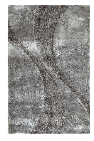 Silken Bella Collection Shag Area Rug - 8