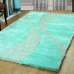 Silken Bella Collection Shag Area Rug