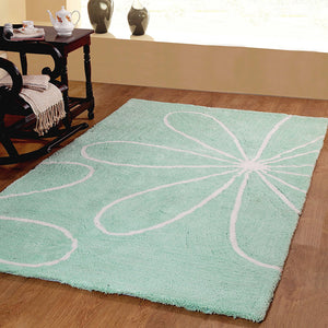 Luxurious Blossom Soft Shag Rug