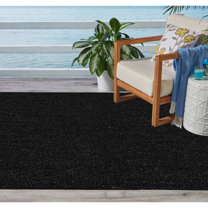 Indoor Outdoor Commercial Rugs - Black