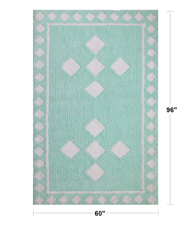 Mapple Home Diamond Designer and Luxurious Shag Rug