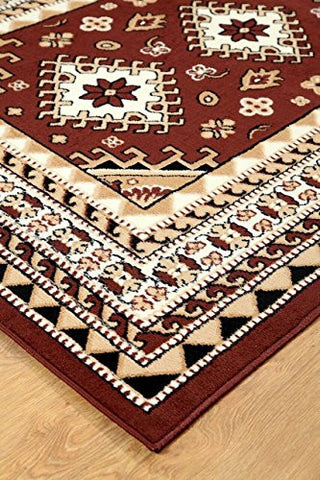Oriental Medallion Maharaja Area Rug Coffee - 2