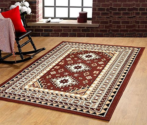 Oriental Medallion Maharaja Area Rug Coffee