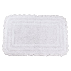 Kimball White Bath Mat -2