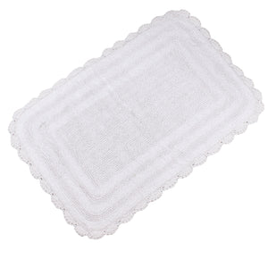 Kimball White Bath Mat -3