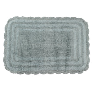 Kimball Cameo Blue Bathroom Mat -2