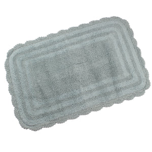 Kimball Cameo Blue Color Bath Mat -3