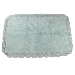 Aubry White Water Bath Mats -2