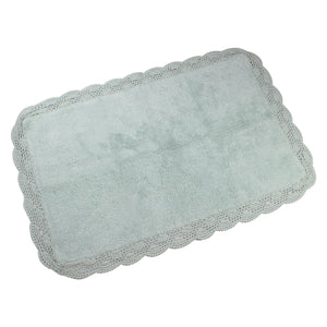 Aubry White Water Bath Mats -3
