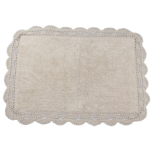 Aubry Sand Shell Bathroom Mat -2