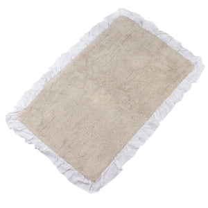 Bonie White Water Color Bath Mats -3