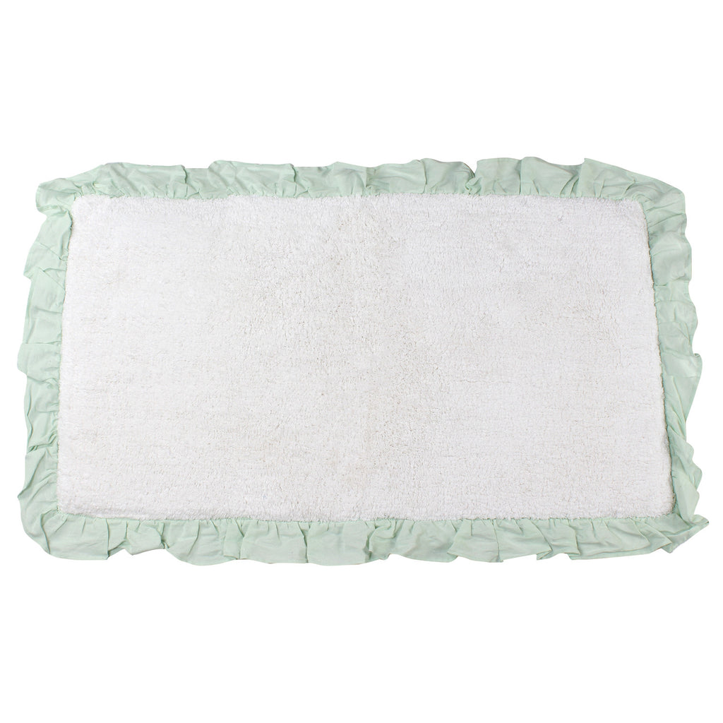 Bonie White Glacier Bathroom Mats -2