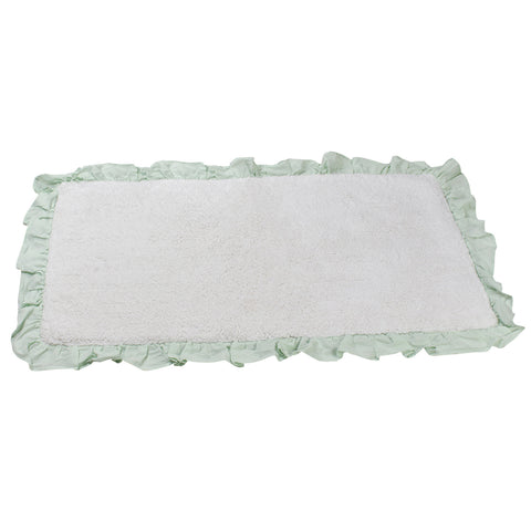 Bonie White Glacier Bathroom Mats -4