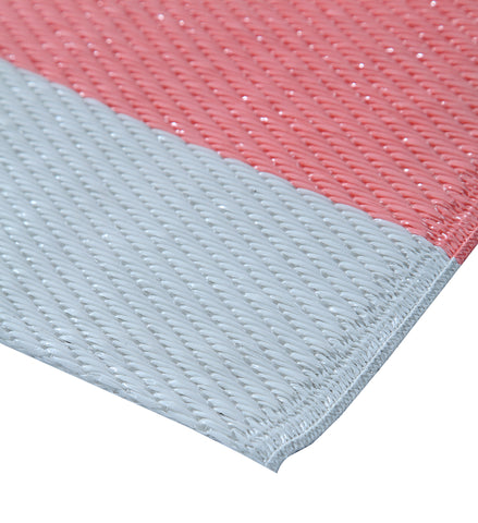 Maple Home Patio Patterned Octavius Outdoor Area Rug - Pink