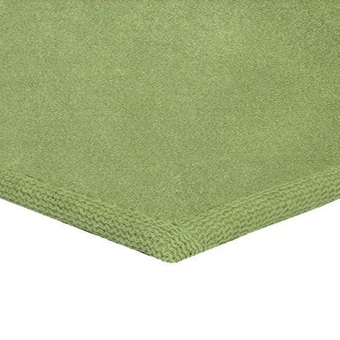 Solid Color Area Rug Square-Lime Green