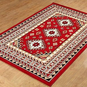 Oriental Medallion Persian Style Maharaja Carpet - 1