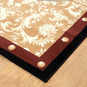 Western Star Cowboy Area Rug - Gold Brown Black - 1