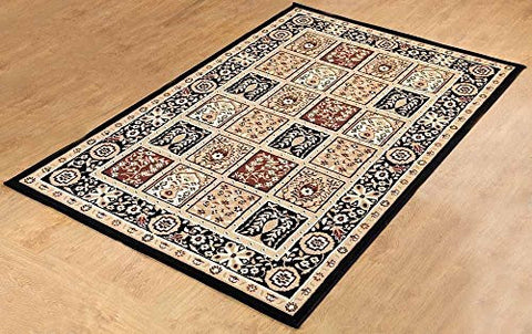Traditional Medallion Persian Style Carpet - 1