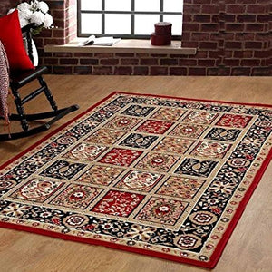 Oriental Persian Style Maharaja Carpet Red