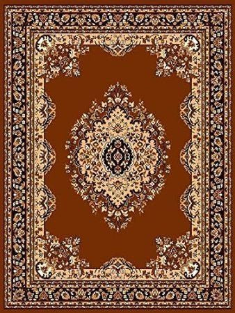 Persian Style Medallion Carpet Coffee - 4