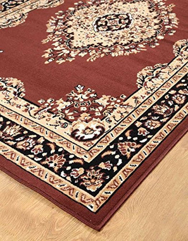 Persian Style Medallion Carpet Coffee - 2