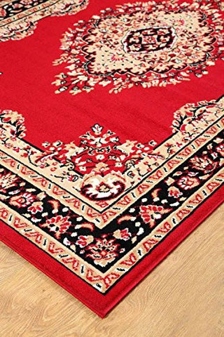 Persian Style Maharaja Area Rug Red - 2