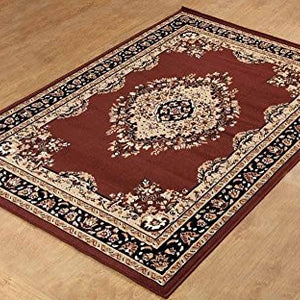 Persian Style Medallion Carpet Coffee - 1