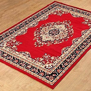Persian Style Maharaja Area Rug Red - 1