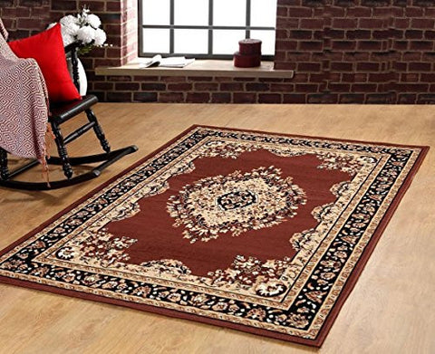 Persian Style Medallion Carpet Coffee