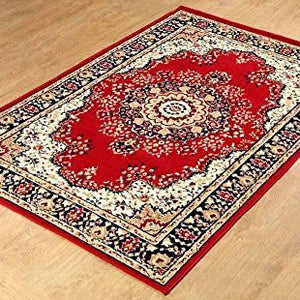 Traditional Medallion Persian Style Area Rug - 1