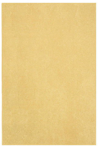 Solid Color Area Rug -Yellow