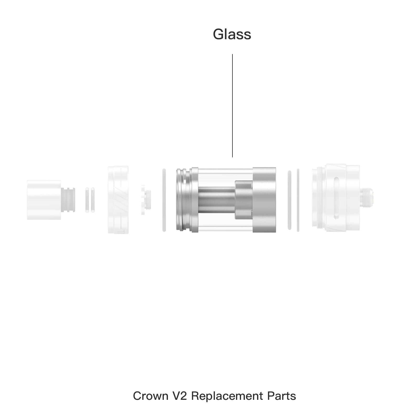 Crown ll Replacement Glass
