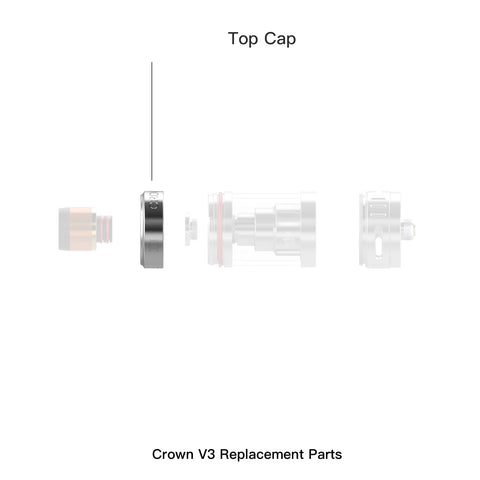 Crown 3 Replacement Top Cap