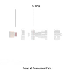 Crown 3 Replacement O-Rings