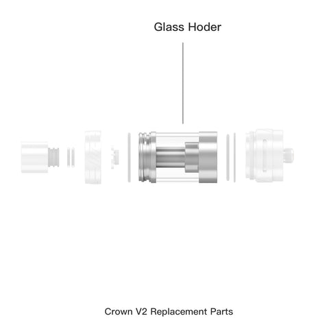 Crown ll Replacement Glass Holder