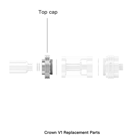 Crown Replacement Top Cap