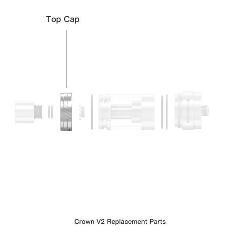 Crown ll Replacement Top Cap