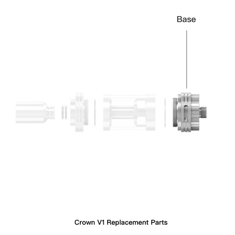 Crown Replacement Atomizer Base