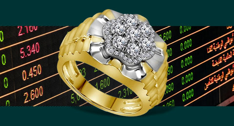 Men's Diamond President's Ring