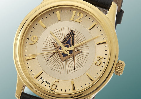 Bulova Blue Lodge Masonic Watch