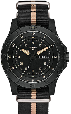 Traser Sand Military Watch, Tritium, Sapphire Crystal, 100232