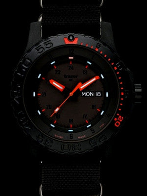 s watches combat red diver chronograph invicta strap fire mens black p pro men watch scuba