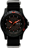 Traser Red Combat P66 Tritium Military Watch, Sapphire Crystal, Nylon Strap, Model 104147