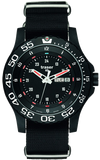 Traser P66 Elite Red Tactical Mission Military Watch with Red Tritium, models 100378, 104637