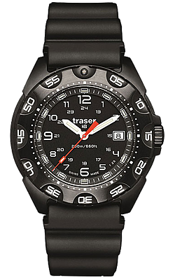 Traser P49 Tornado Pro Black Military Tritium Collection, 105476 and105477