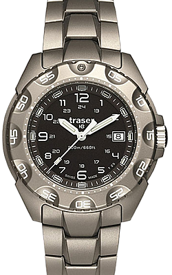 Traser Special Forces 100 Titanium Tritium Watch, Model 105485