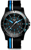 Traser Blue Infinity Sport Tritium Watch, model 105545