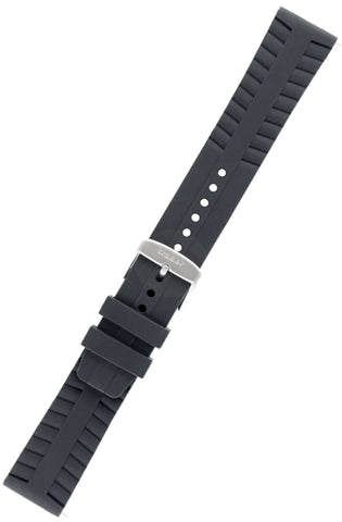 Traser Genuine OEM Signature Silicone Dive Strap with Standard Buckle, 22mm, T45, 105672