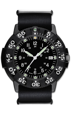 Traser Code Green Tritium Military Watch