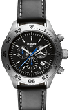 Traser T5 Aurora Tritium Chronograph with Leather Strap 106832